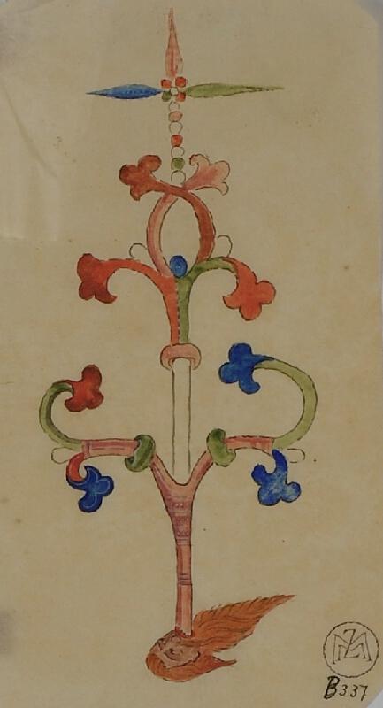 Mořic (Mauritz) Vilém Trapp - Ornament