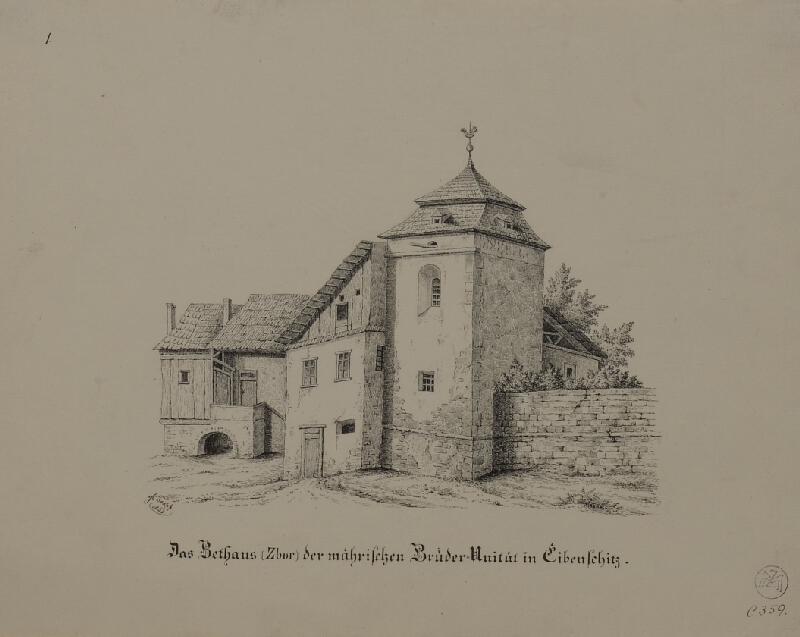 Mořic (Mauritz) Vilém Trapp - Bratrská motlitebna v Ivančicích