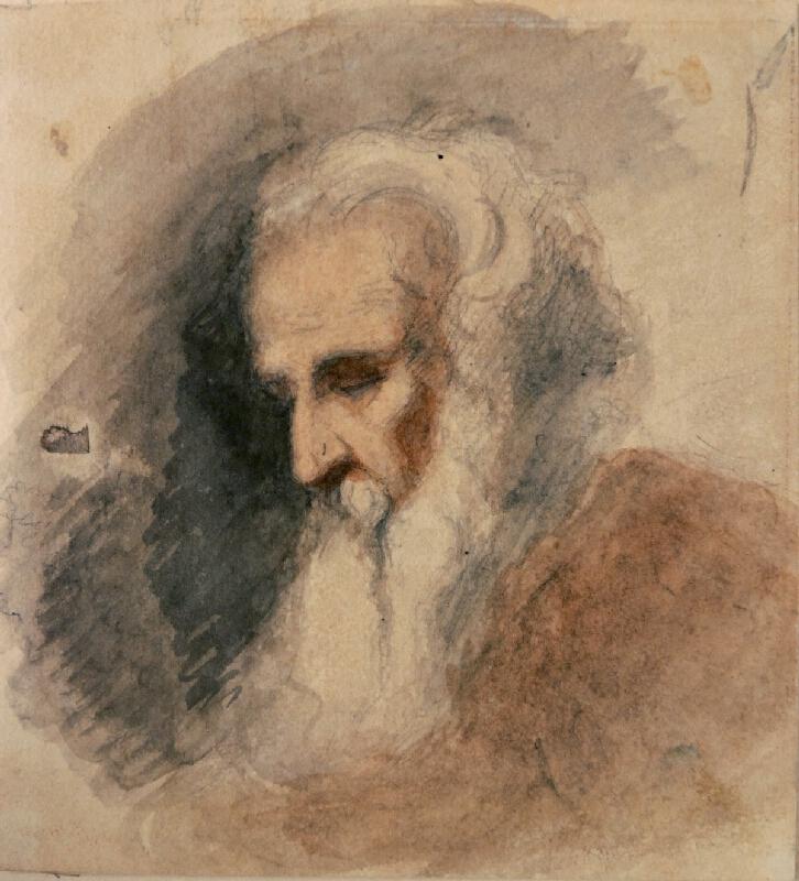 František Bohumír Zvěřina - Skloněná hlava starce