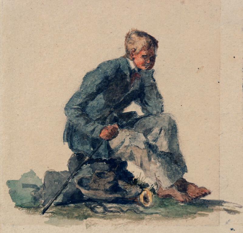 František Bohumír Zvěřina - Odpočívající