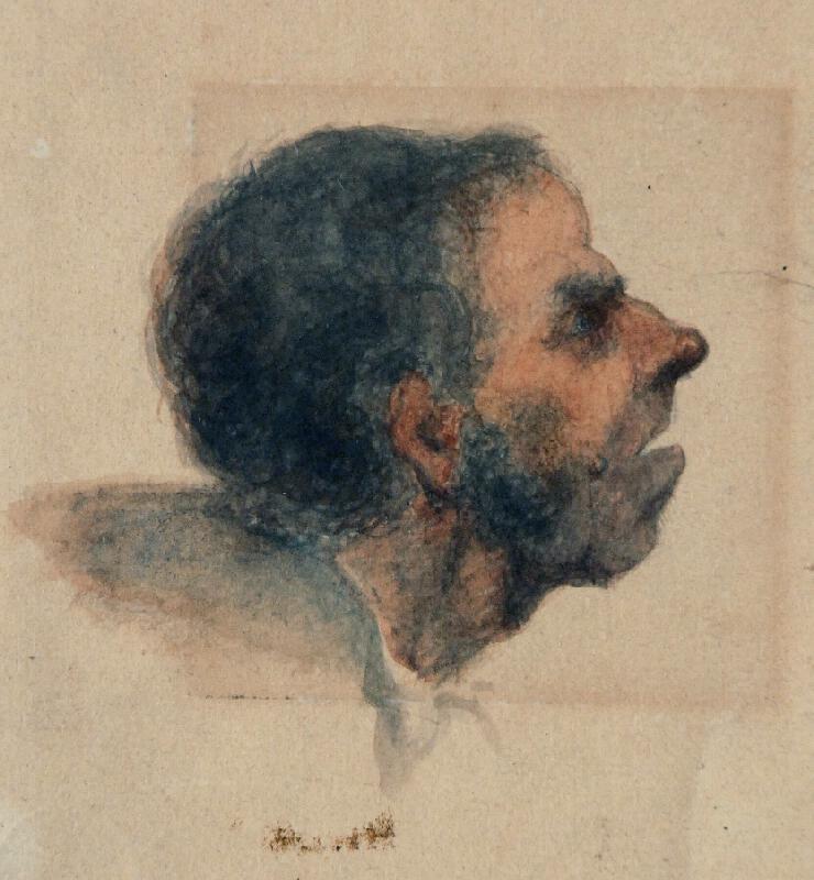 František Bohumír Zvěřina - Hlava muže