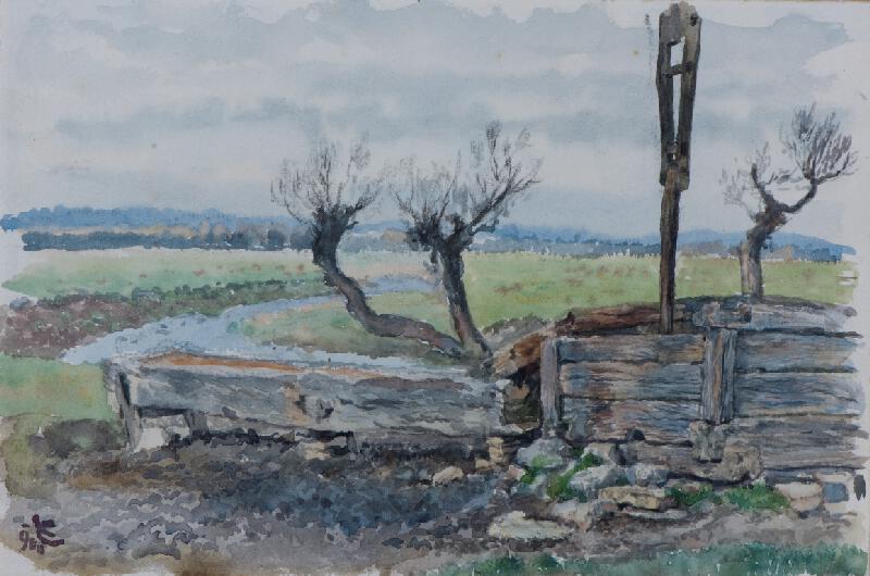 Ludvík Ehrenhaft - Studna v horách