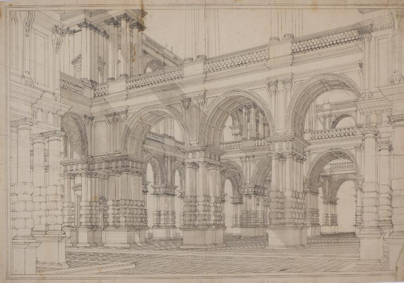 Giuseppe Galli Bibiena - podle - Studie architektury