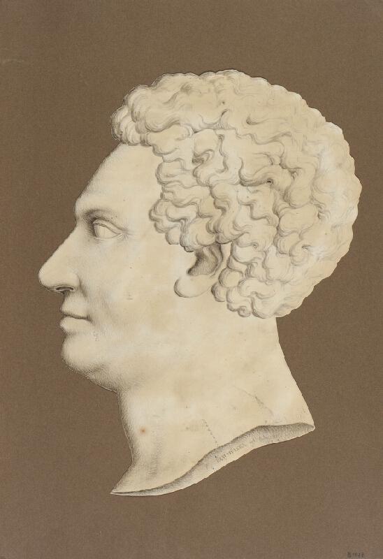 František Xaver Braumüller - Silueta F.A.Mitrovského