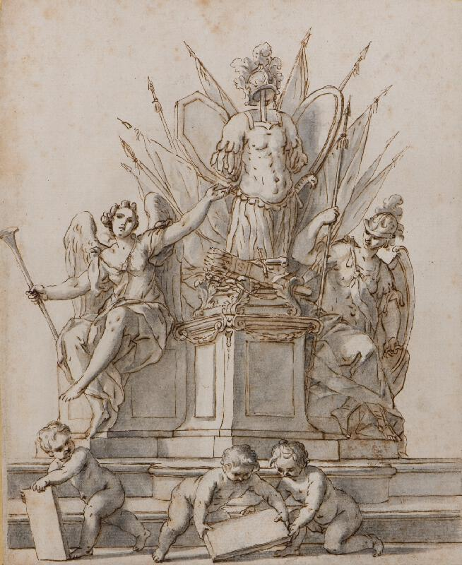 Giovanni Girolamo Bonesi - Pomník s válečnými trofejemi