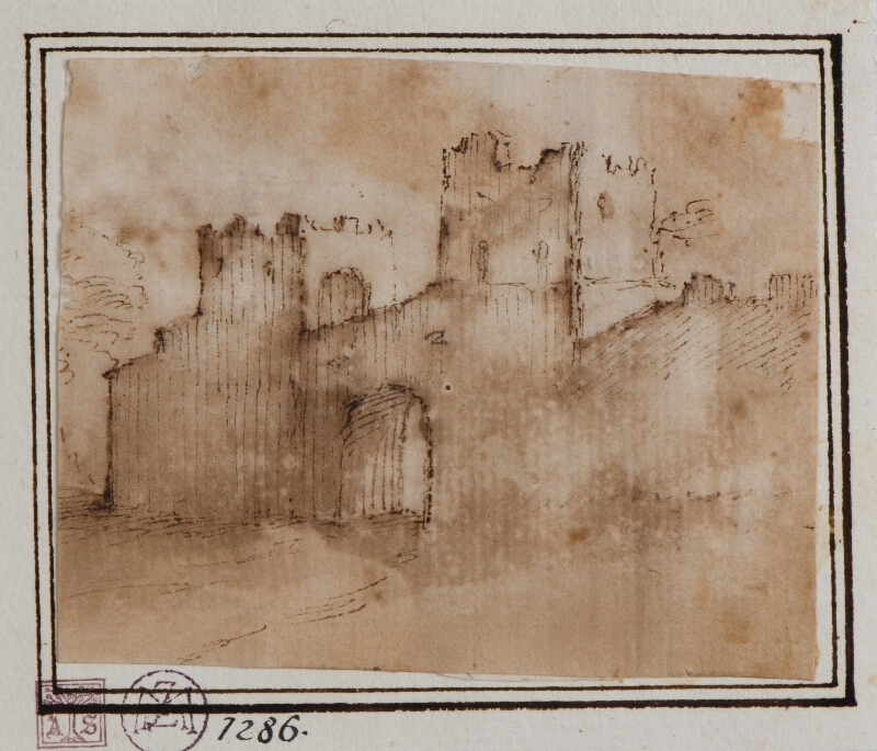 Francesco Allegrini - Hradní brána (Brána pevnosti)