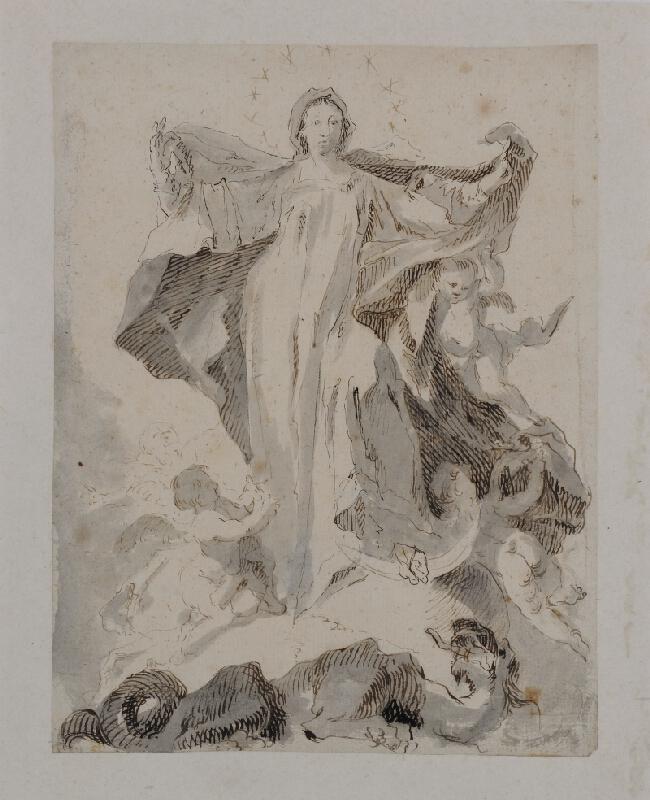 Josef Stern - Neposkvrněné početí P. Marie