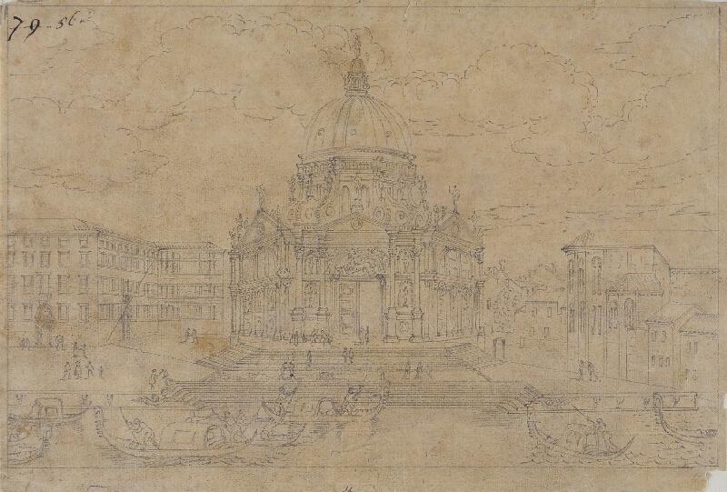 Giovanni Antonio Canal zv.Canaletto - následovník - Sta Maria della Salute