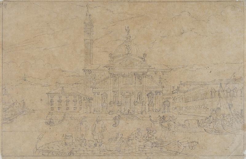 Giovanni Antonio Canal zv.Canaletto - následovník - Chiesa del Redentore