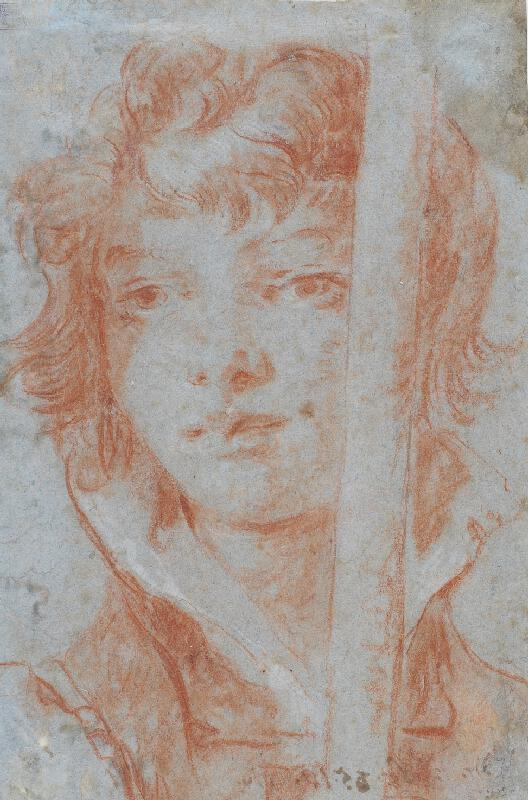 Giovanni Battista Tiepolo - Hlava pážete