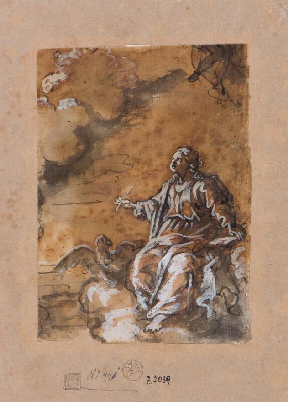 Giuseppe Passeri (?) - Sv. Jan Evangelista na Pathmu