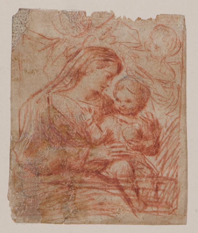 neznámý - Madona s dítětem