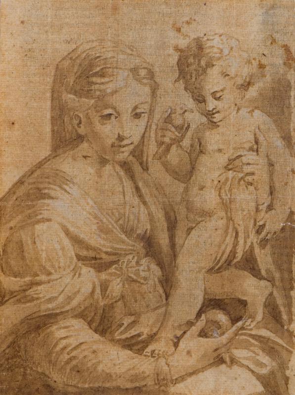 Francesco Mazzola zv. Parmigianino - podle - Madona s dítětem