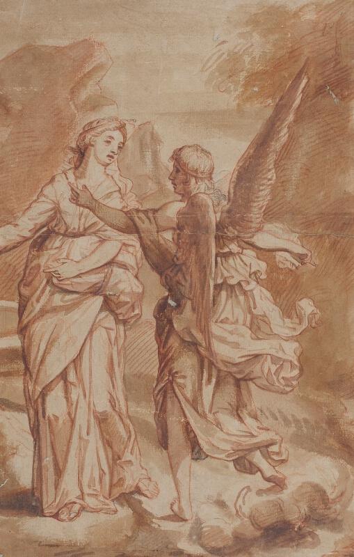 Pietro Berrettini da Cortona - podle - Zvěstování