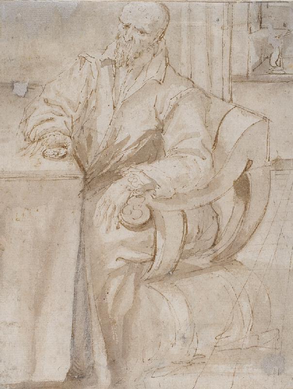 neznámý malíř - Muž s medailí