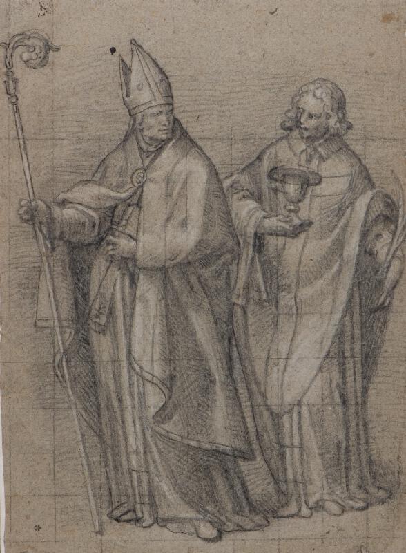 neznámý malíř italský - Dva světci