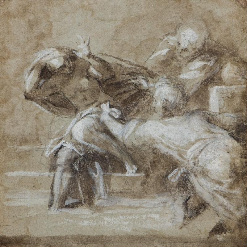 neznámý malíř italský - Zuzana a starci