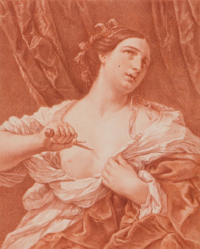 Gaetano Savorelli - Lukrécie (podle Guida Reniho)