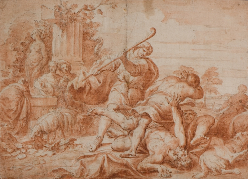 neznámý malíř italský - Bitka