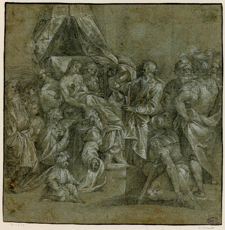 Giuseppe Cesari zv. Cavaliere d´Arpino - podle - Zázrak sv. Matouše
