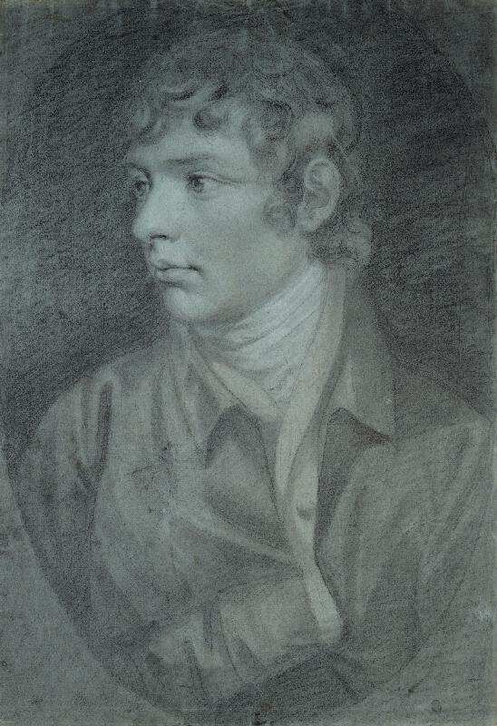 Johann Baptist Lampi ml - Portrét mladého muže