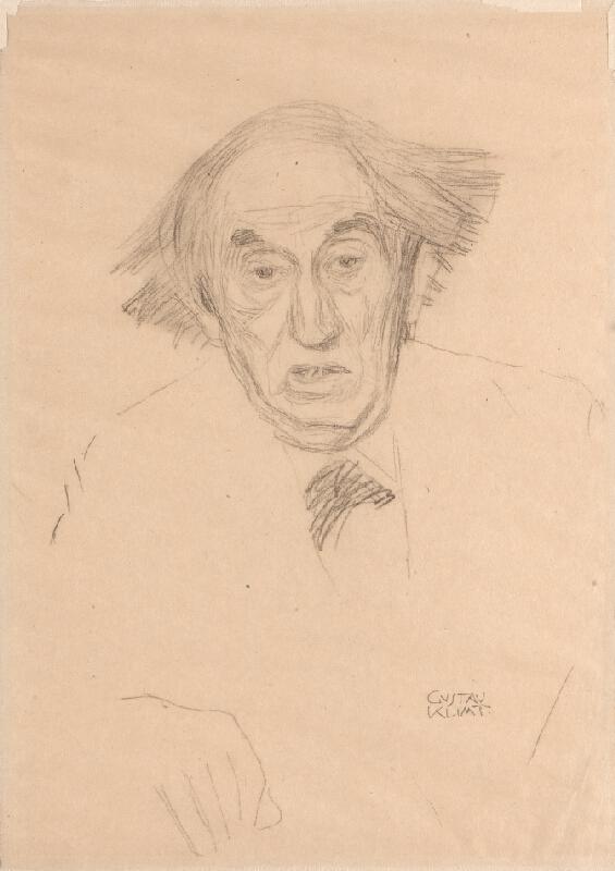 Gustav Klimt - Poprsí staršího muže