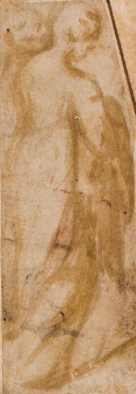 Andrea Meldolla zv. Andrea Schiavone - podle - Ženská figura