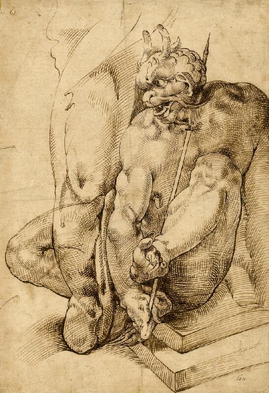 Bartolomeo Passarotti - Démon