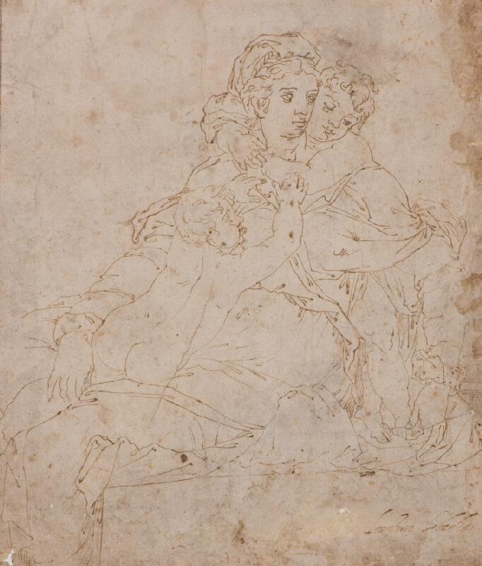 Girolamo Miruola (?) - Caritas