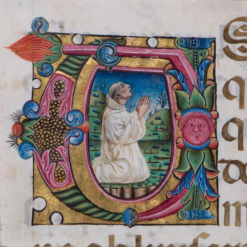 neznámý malíř boloňský (?) - Modlící se mnich