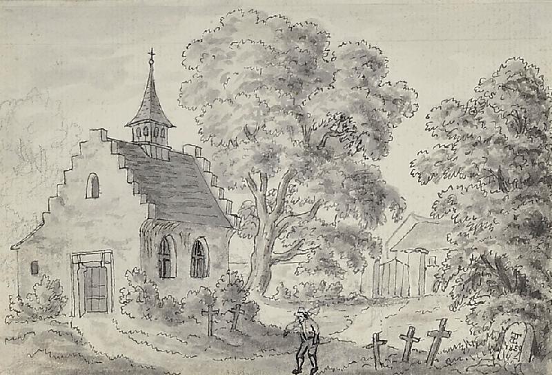 Bedřich Silva Tarouca - Kostelík se hřbitovem