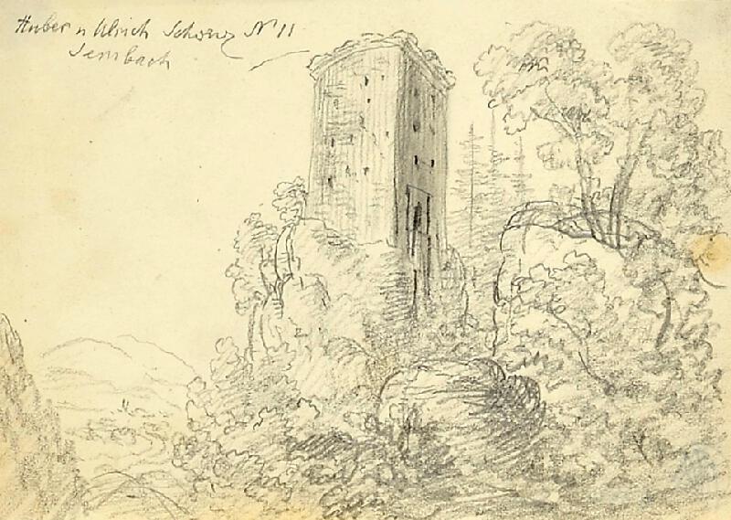 Bedřich Silva Tarouca - Hradní věž