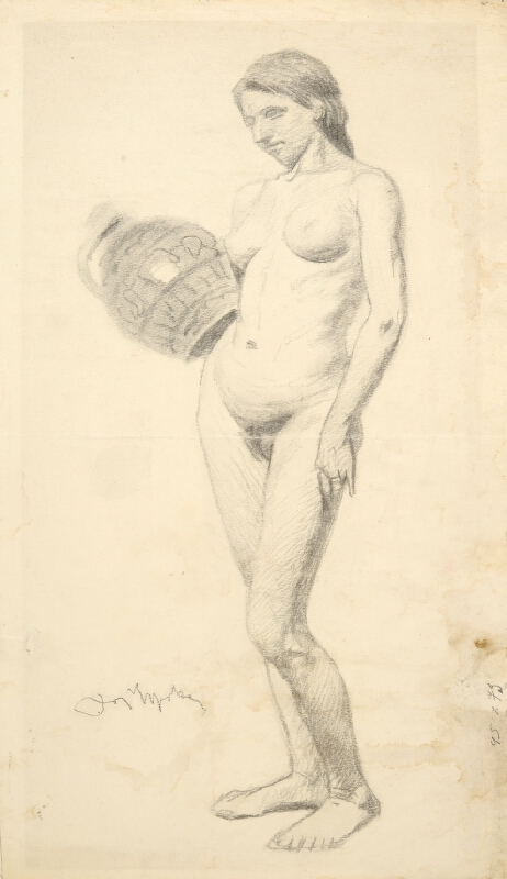 Joža Uprka - Žena s čepákem