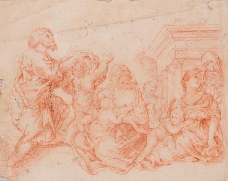 Pietro Berrettini da Cortona - podle - Mytologická scéna