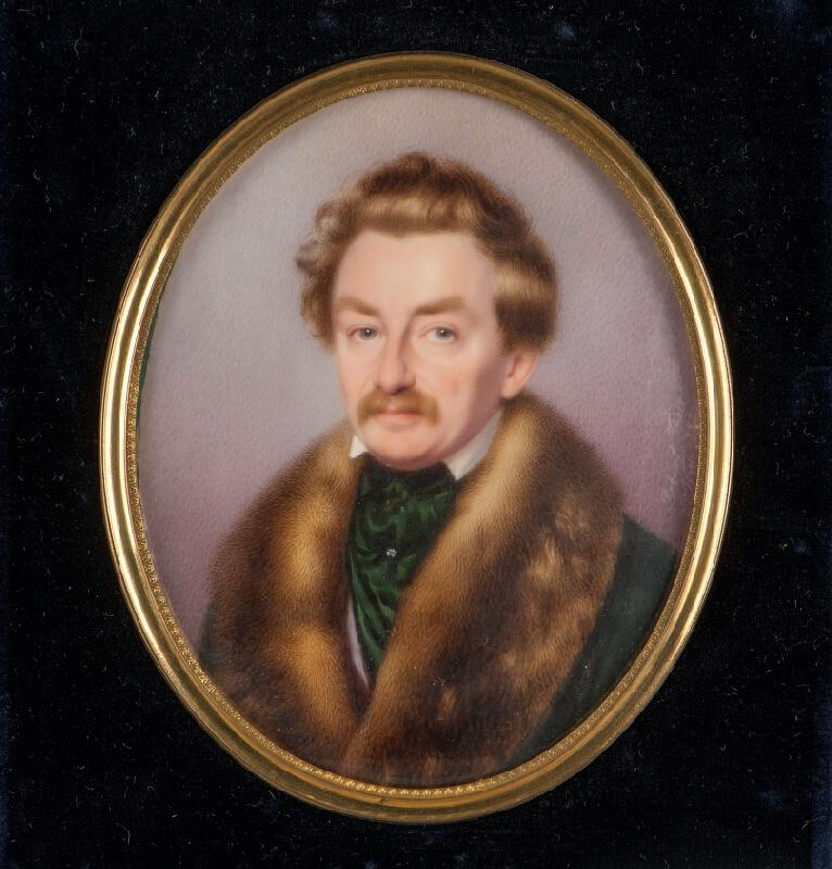 Robert Theer - Podobizna dvor.malíře Wilhelma Holleho