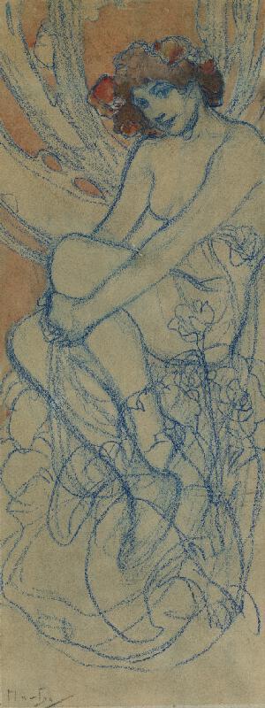 Alfons Mucha - Jaro