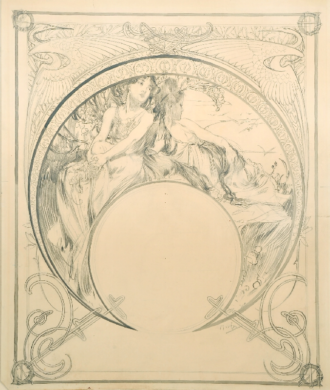 Alfons Mucha - Ilsée, princezna tripolská ?