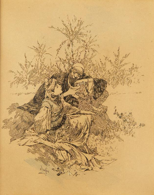Alfons Mucha - Princ Reši, ilustrace