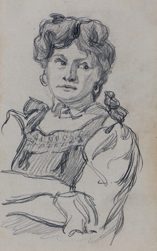 Ludvík Ehrenhaft - Ženský portrét