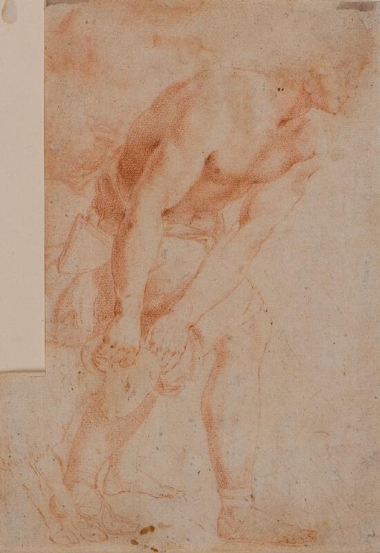 Domenico Zampieri zv. Domenichino - podle - Muž vedoucí berana