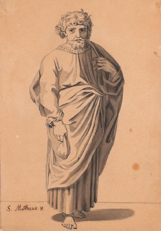 František Tkadlík (Kadlik) - Apoštol sv. Matouš Evangelista