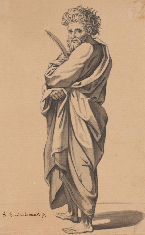 František Tkadlík (Kadlik) - Apoštol sv. Bartoloměj