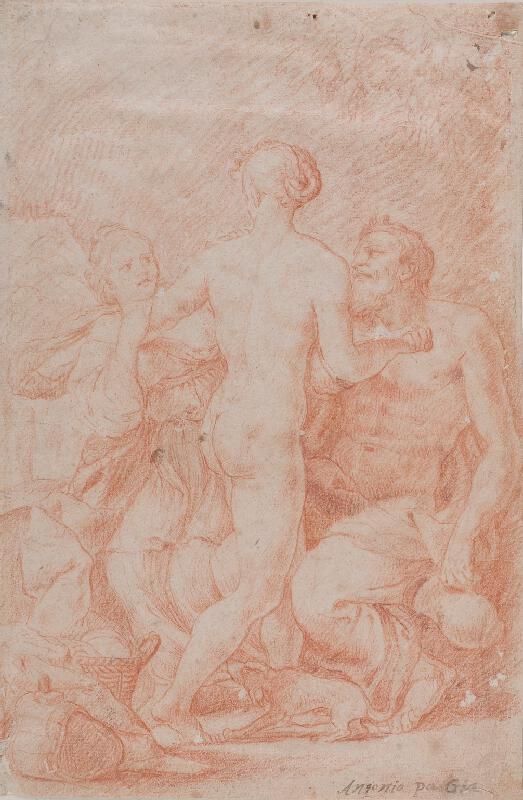 Antonio Paglia (?) - Lot a jeho dcery