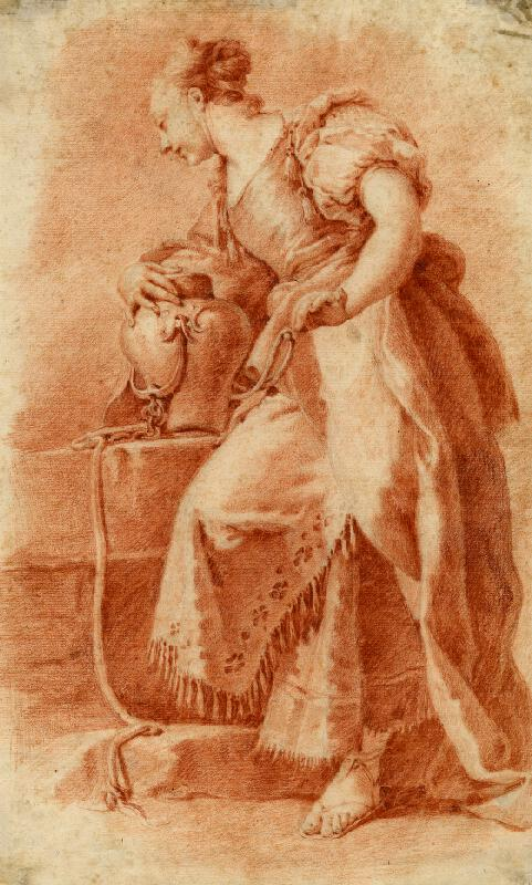 Giovanni Battista Pittoni - podle - Rebeka u studny