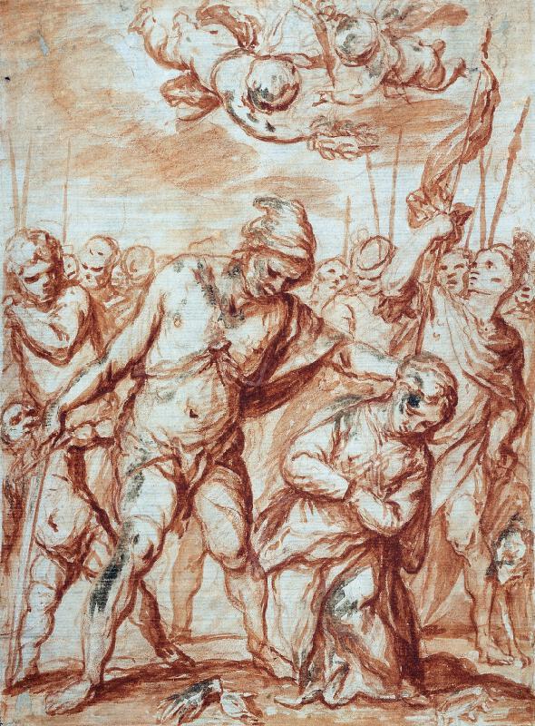 Giovanni Stefano Danedi zv. Montalto - Martyrium sv. Eurosie
