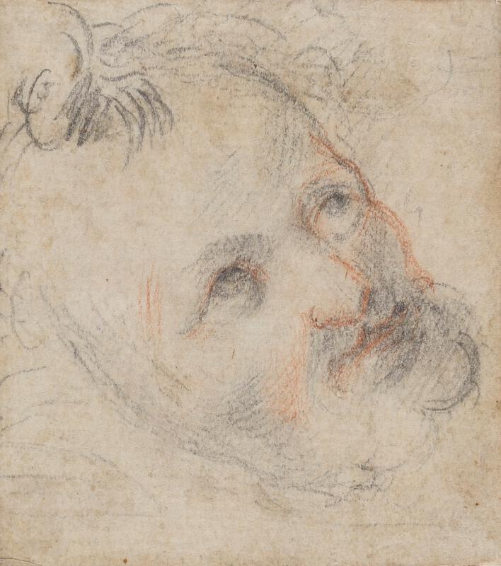 Giusepp Cesari zv. Cavaliere d´Arpino - Hlava muže