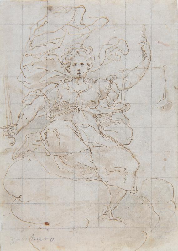 neznámý malíř florentský (?) - Justitia