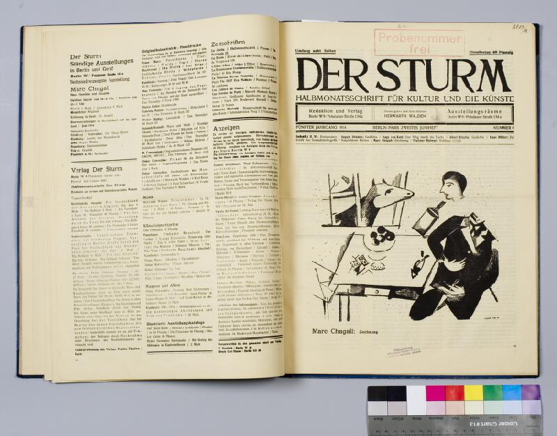 neurčený autor - Der Sturm
