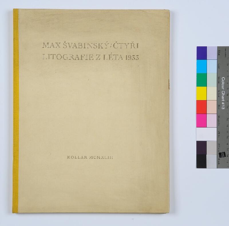 Max Švabinský - Max Švabinský. Čtyři litografie z léta 1933