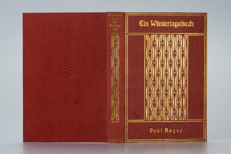 Paul Heyse, Friedrich Volckmar - Ein Wintertagebuch